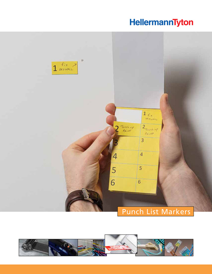 Punch Tags List Markers – LITPD348